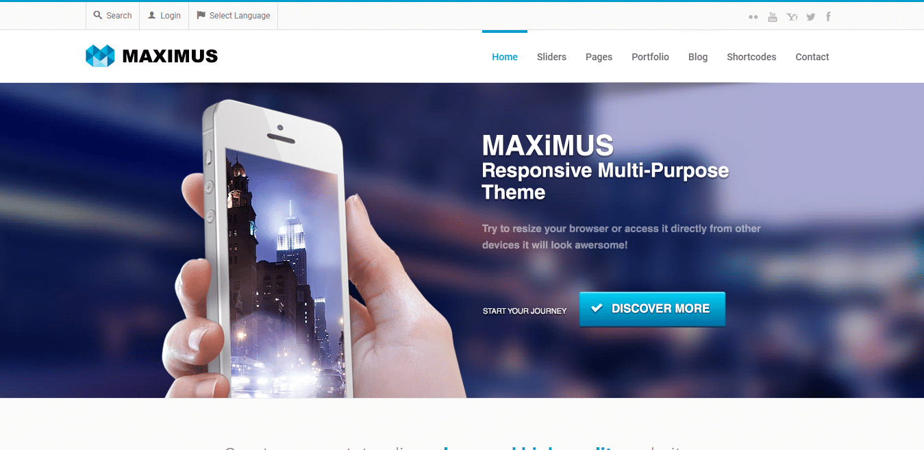 maximus-business-website-template