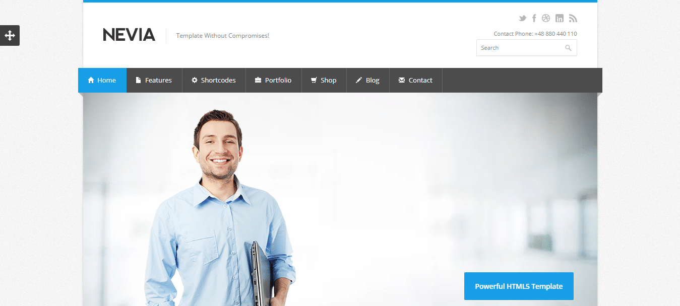 nevia-business-website-template