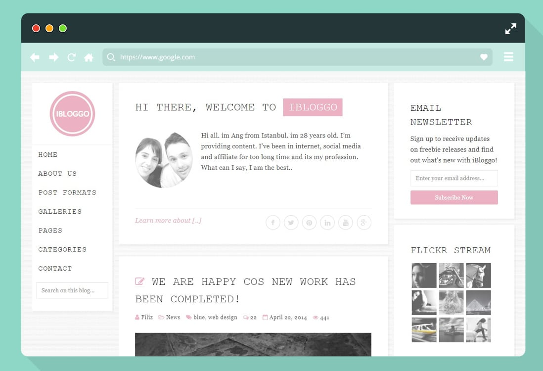 30 Bootstrap Html Personal Website Templates For Creative People