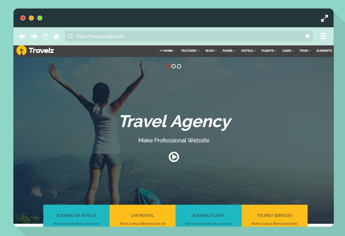 30+ HTML Travel Website Template For Agencies & Blogs -