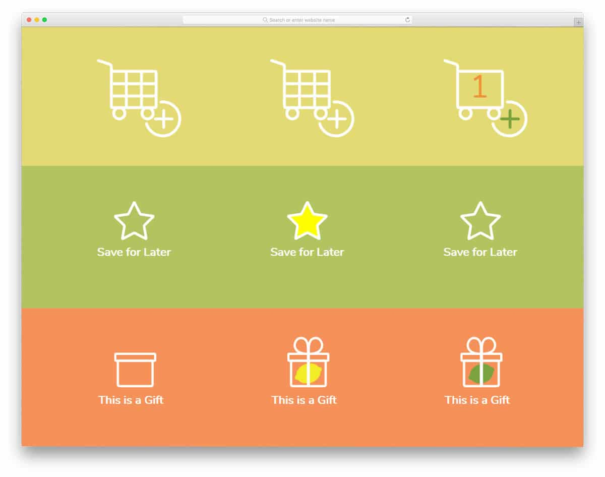 Animated-Shopping-Cart-Icons