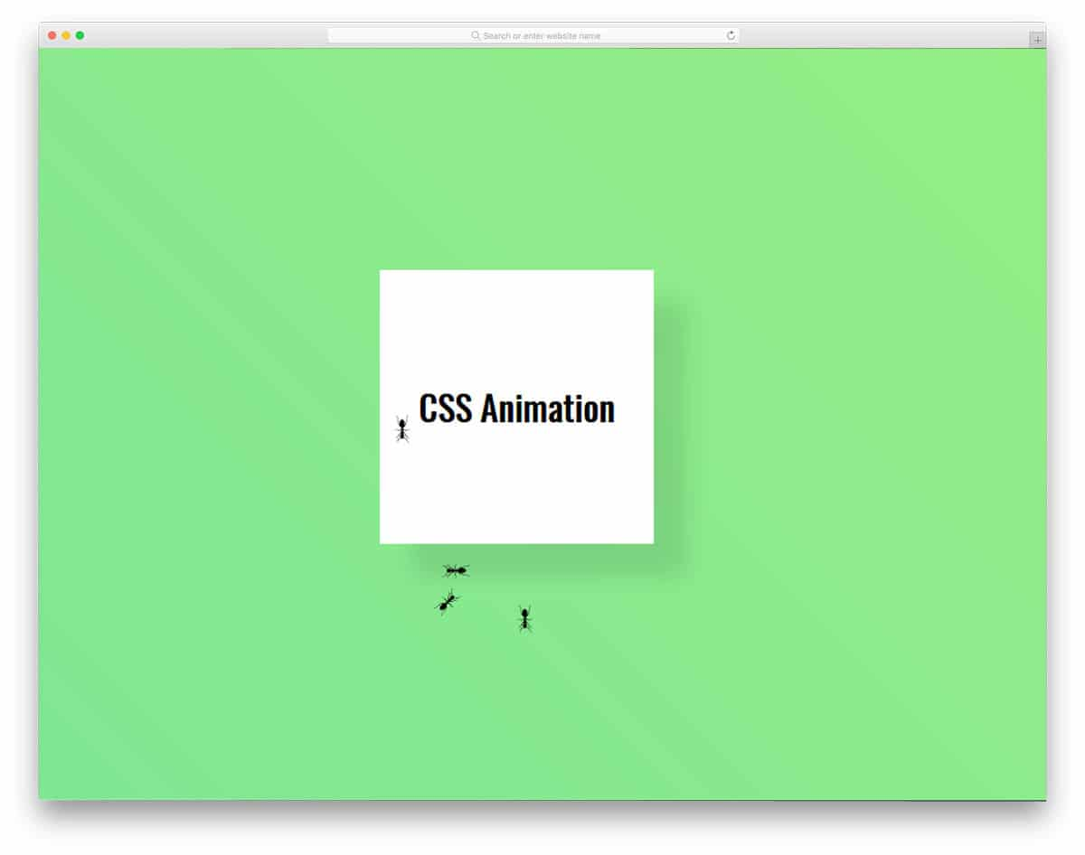 25 Useful CSS Animation Examples For Logically Creative Minds - 2019