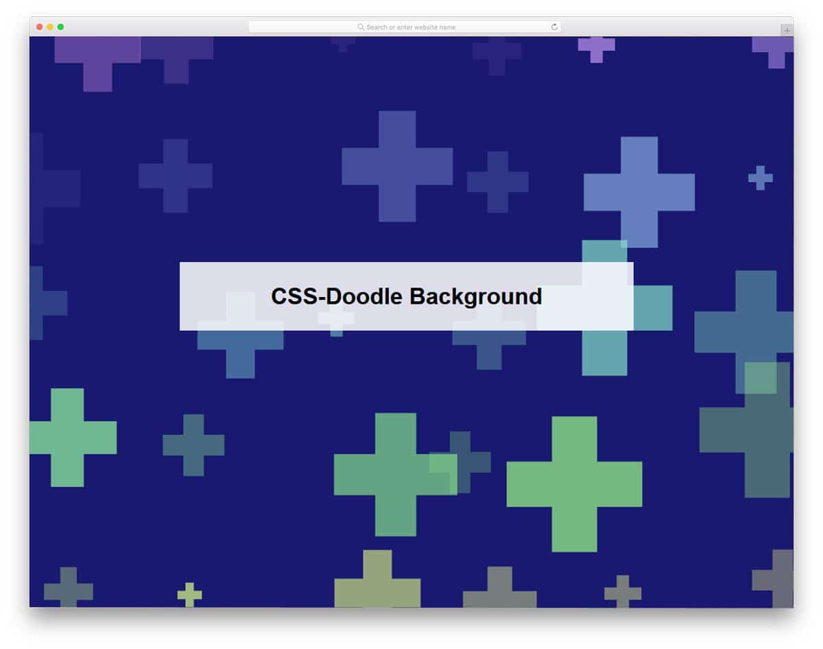 CSS-Doodle