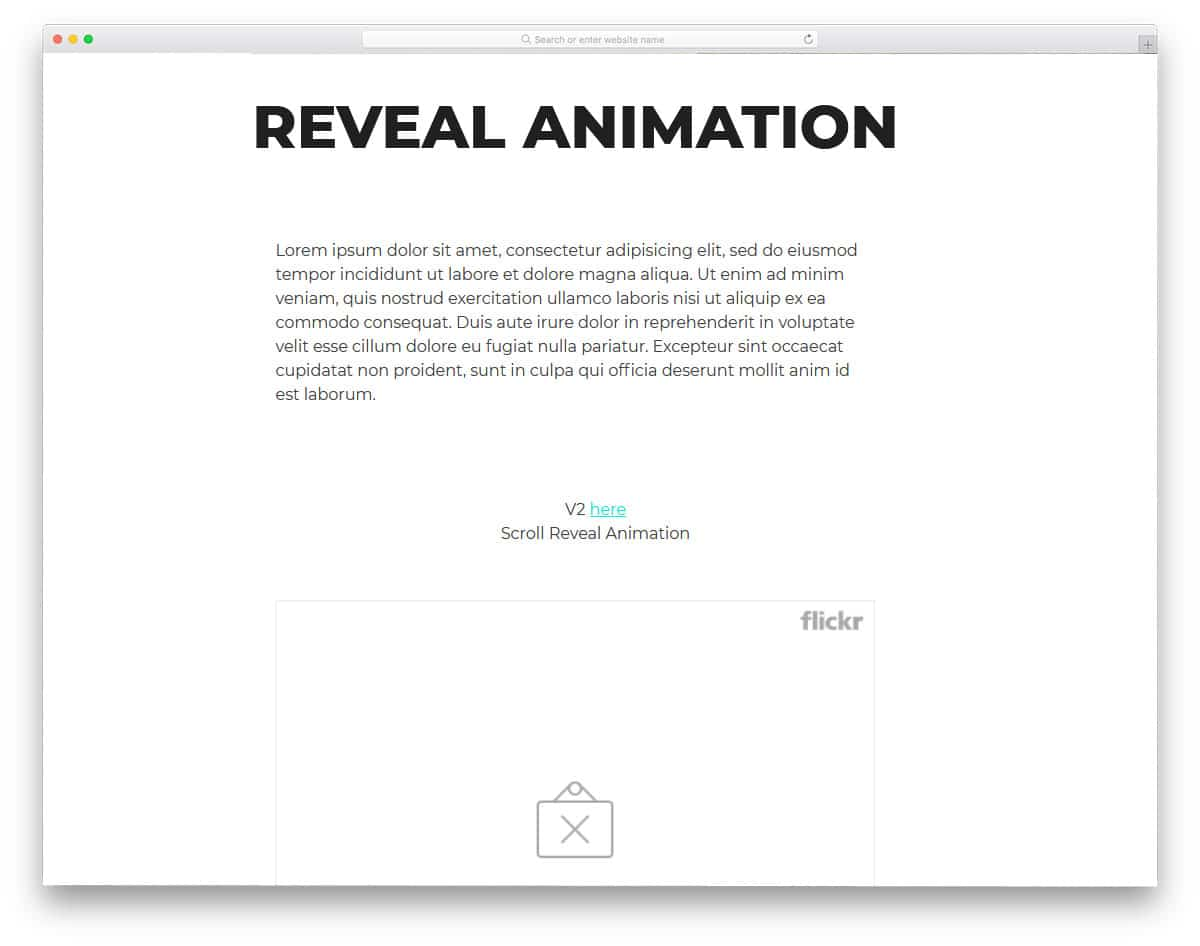 CSS-Reveal-Animation