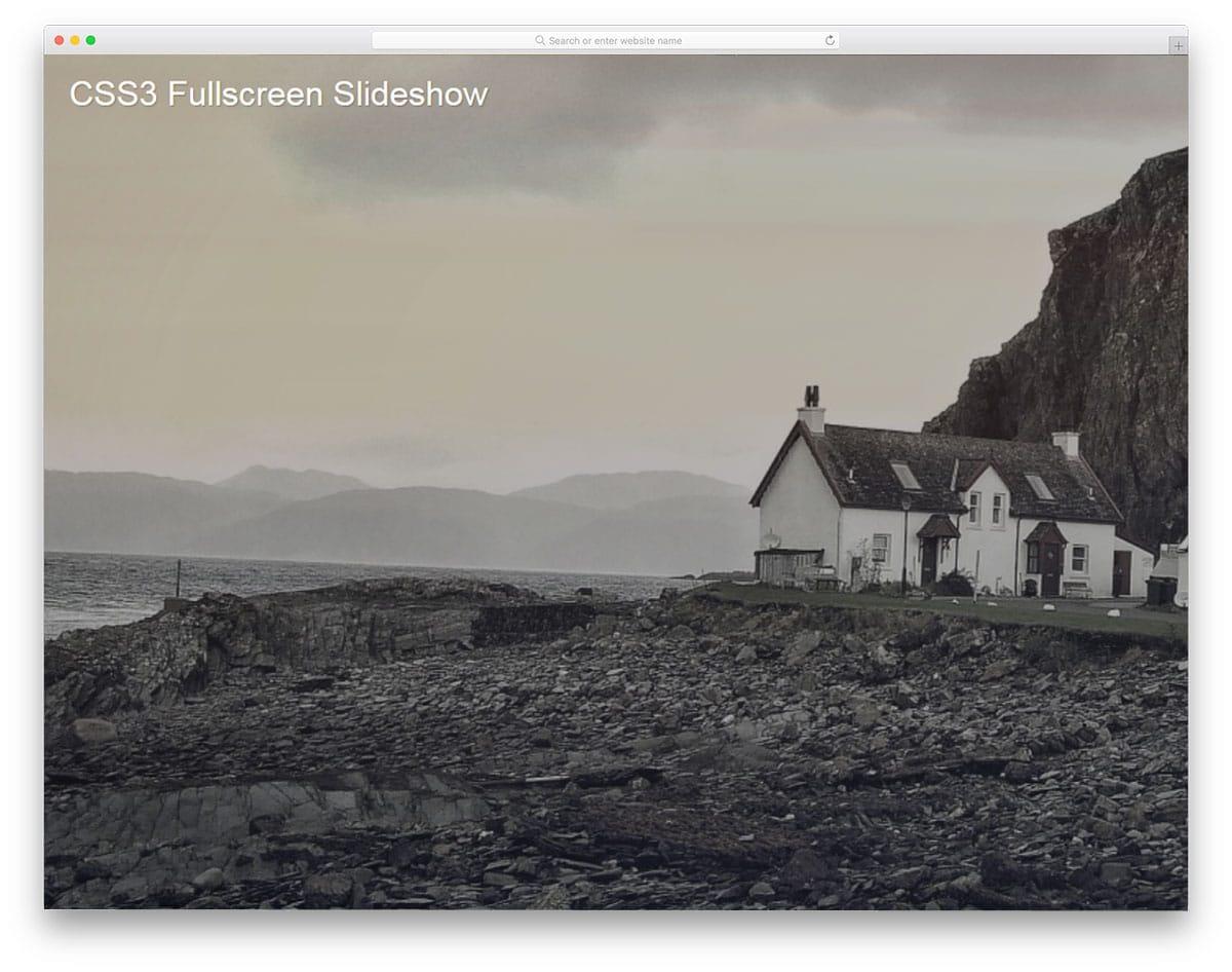 CSS3-Fullscreen-Background-Slideshow