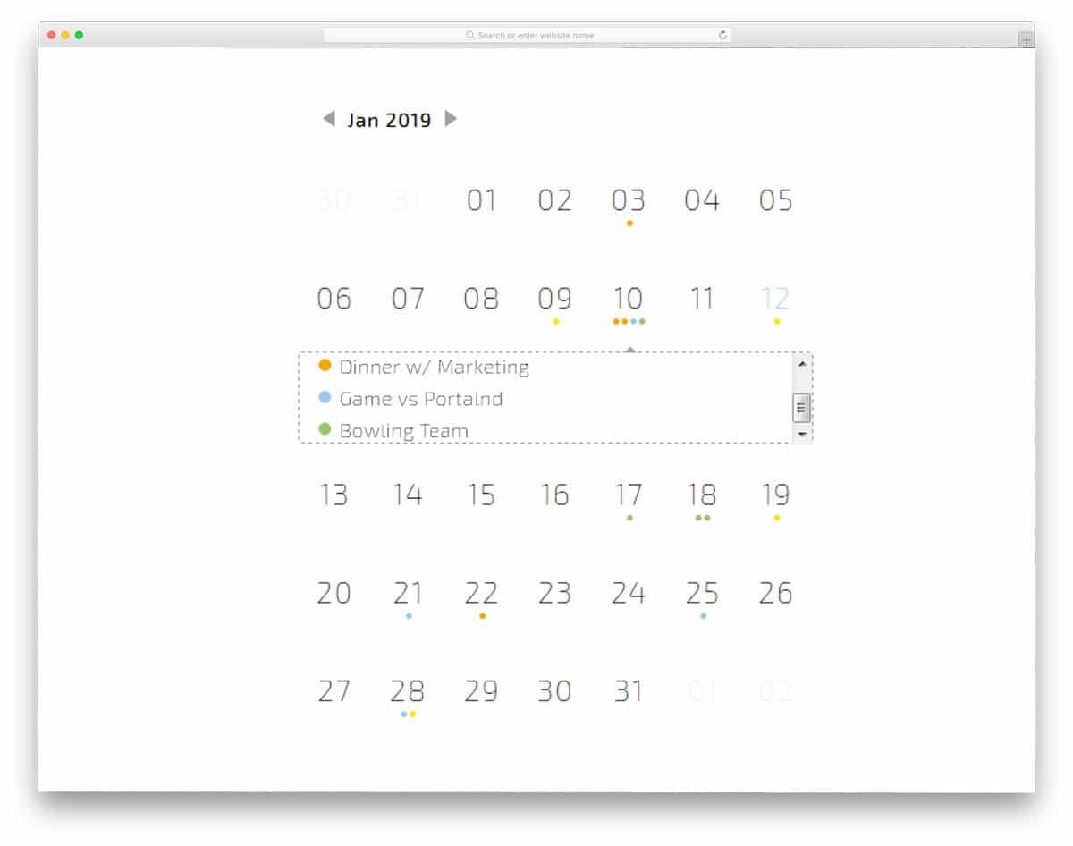 Calendar-By-Ray