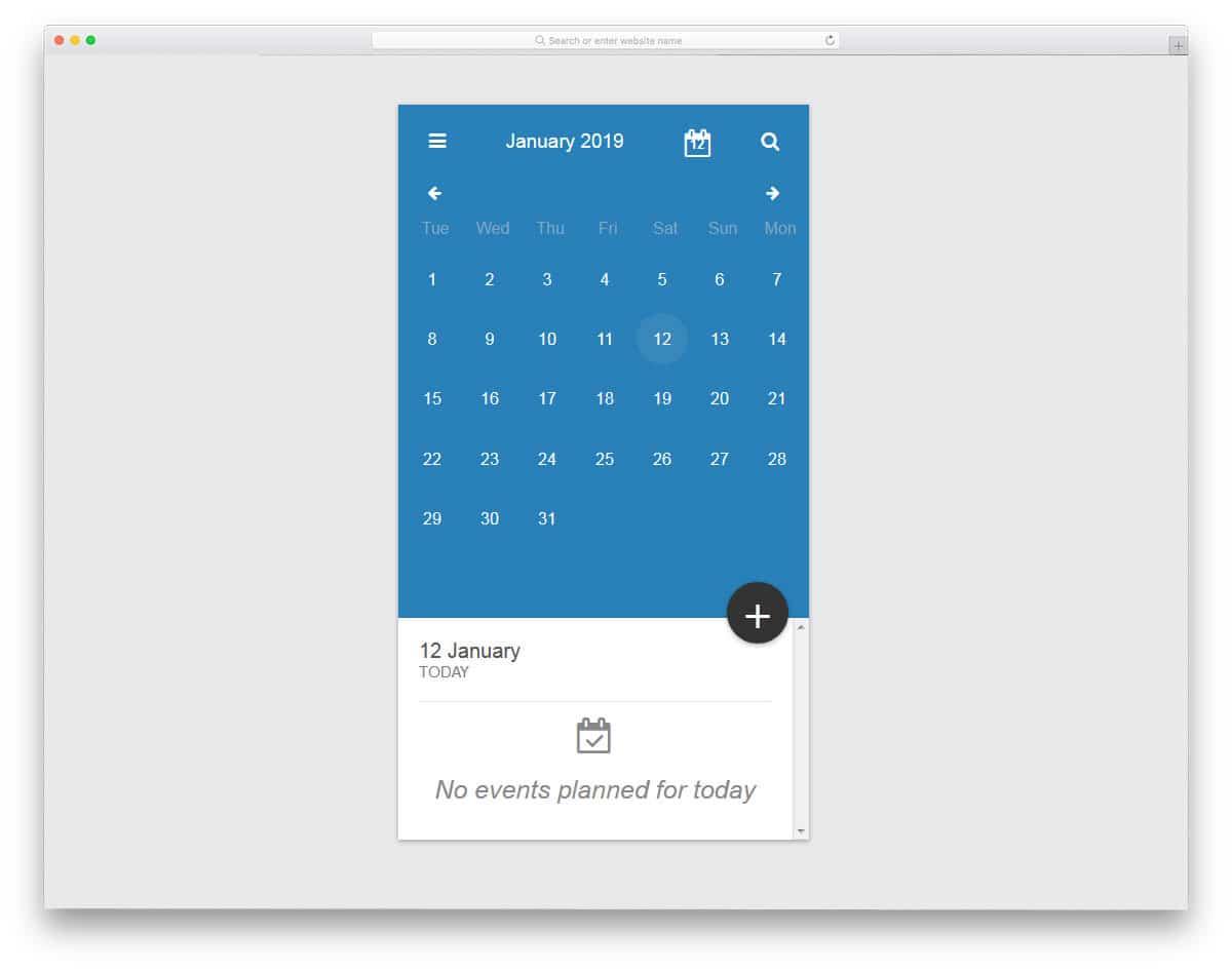 Calendar-In-ReactJs