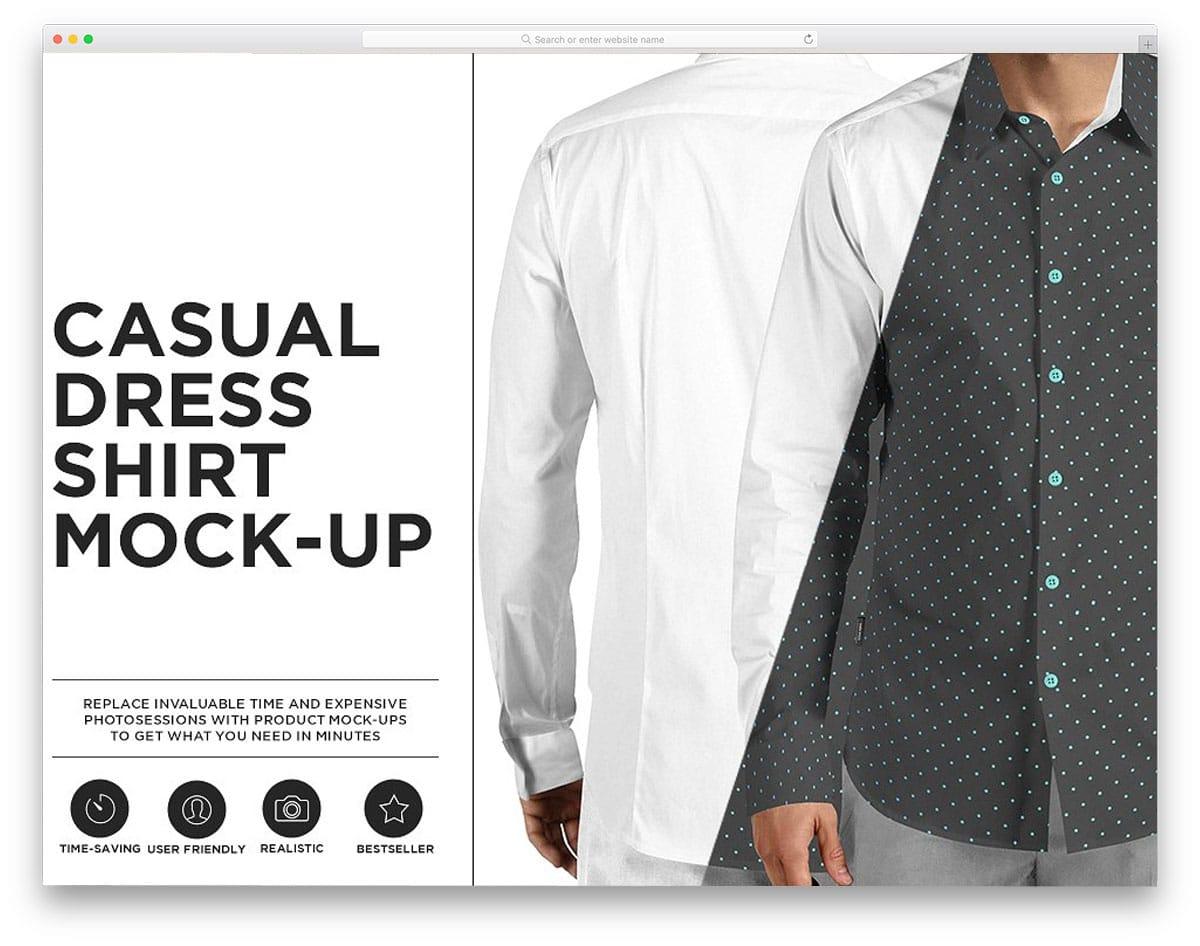 Casual-Dress-Shirt-Mock-up