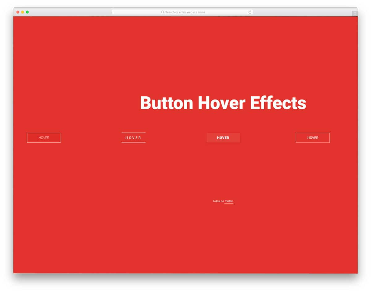 Collection-of-Button-Hover-Effects