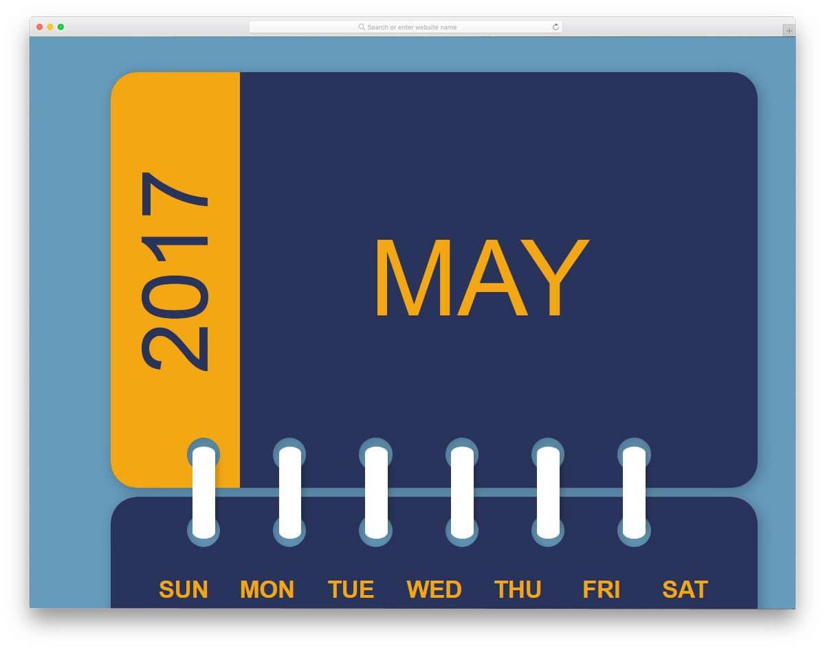 Daily-CSS-Image-09-Calendar-2