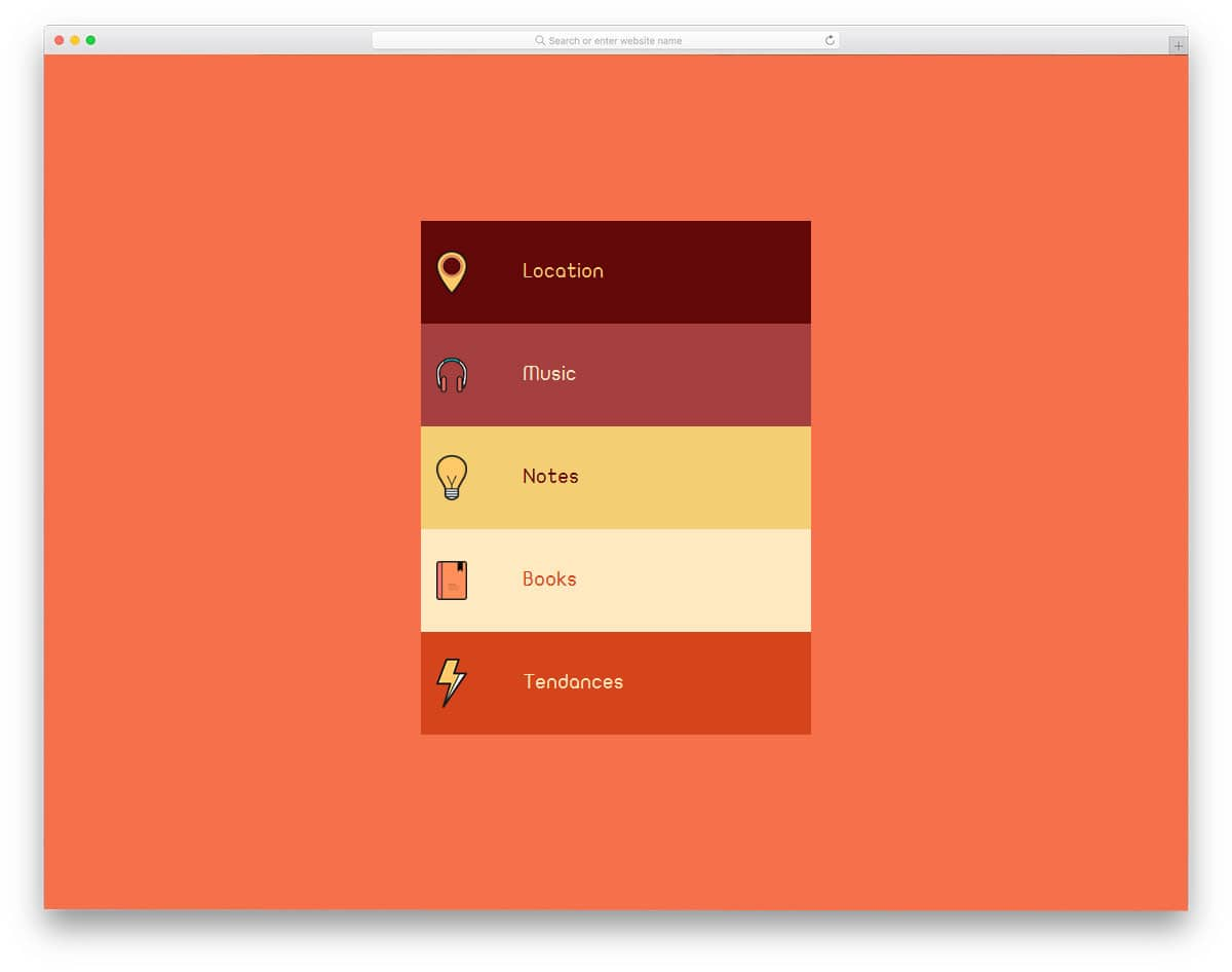 22 CSS Accordion For Mobile Applications And Websites 2019