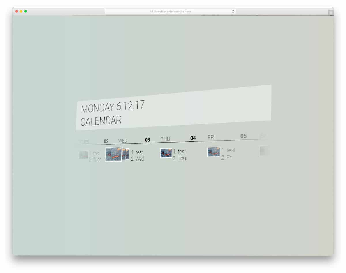 Fluent-Design-Calendar
