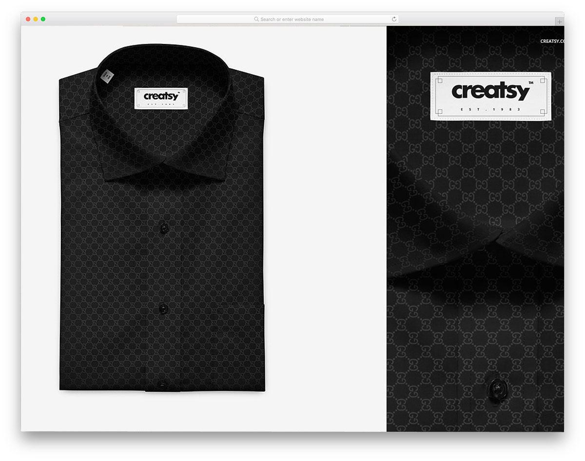 Folded-Dress-Shirt-Mockup