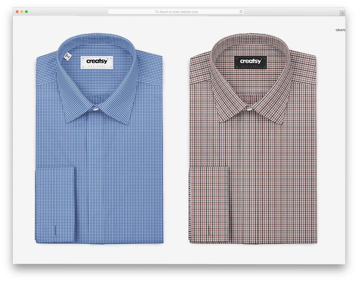 Folded-Formal-Dress-Shirt-Mockup
