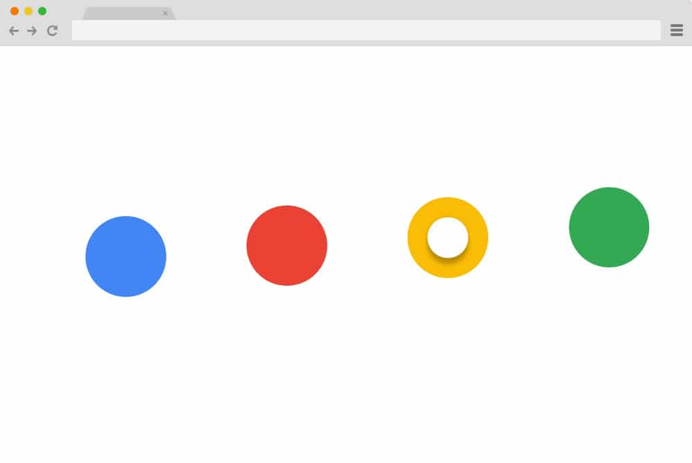 Google Dots Radio Buttons