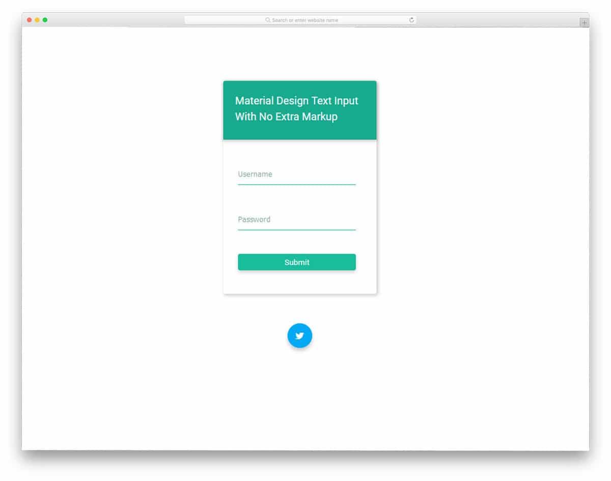 Material-Design-Input-Text