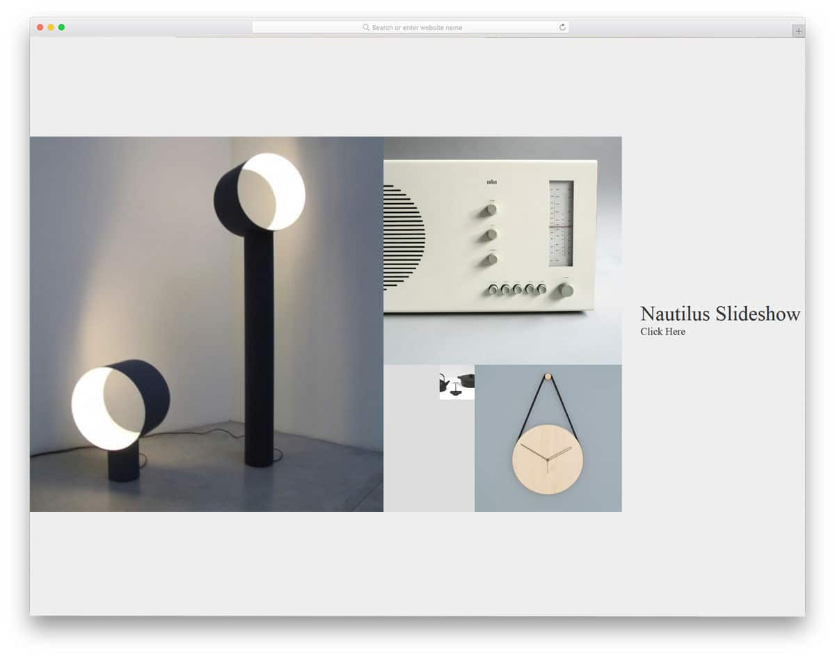 Nautilus-Slideshow