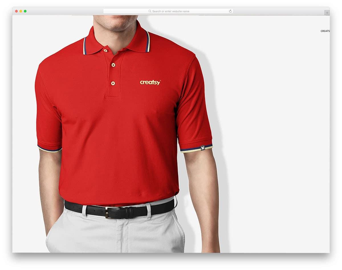 Polo-Shirt-Mockup