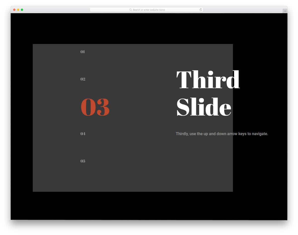 25 CSS Slideshow Design With Impressive Transition Effects
