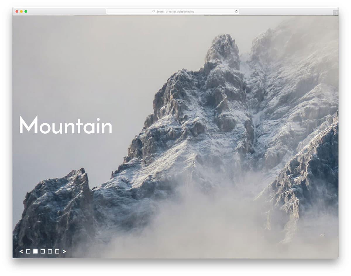 Split-Screen-Slideshow