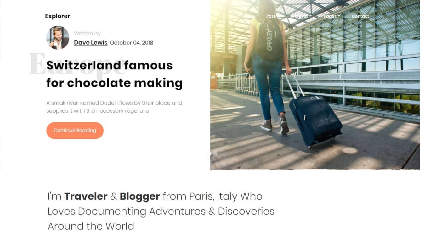 blogger templates - explore