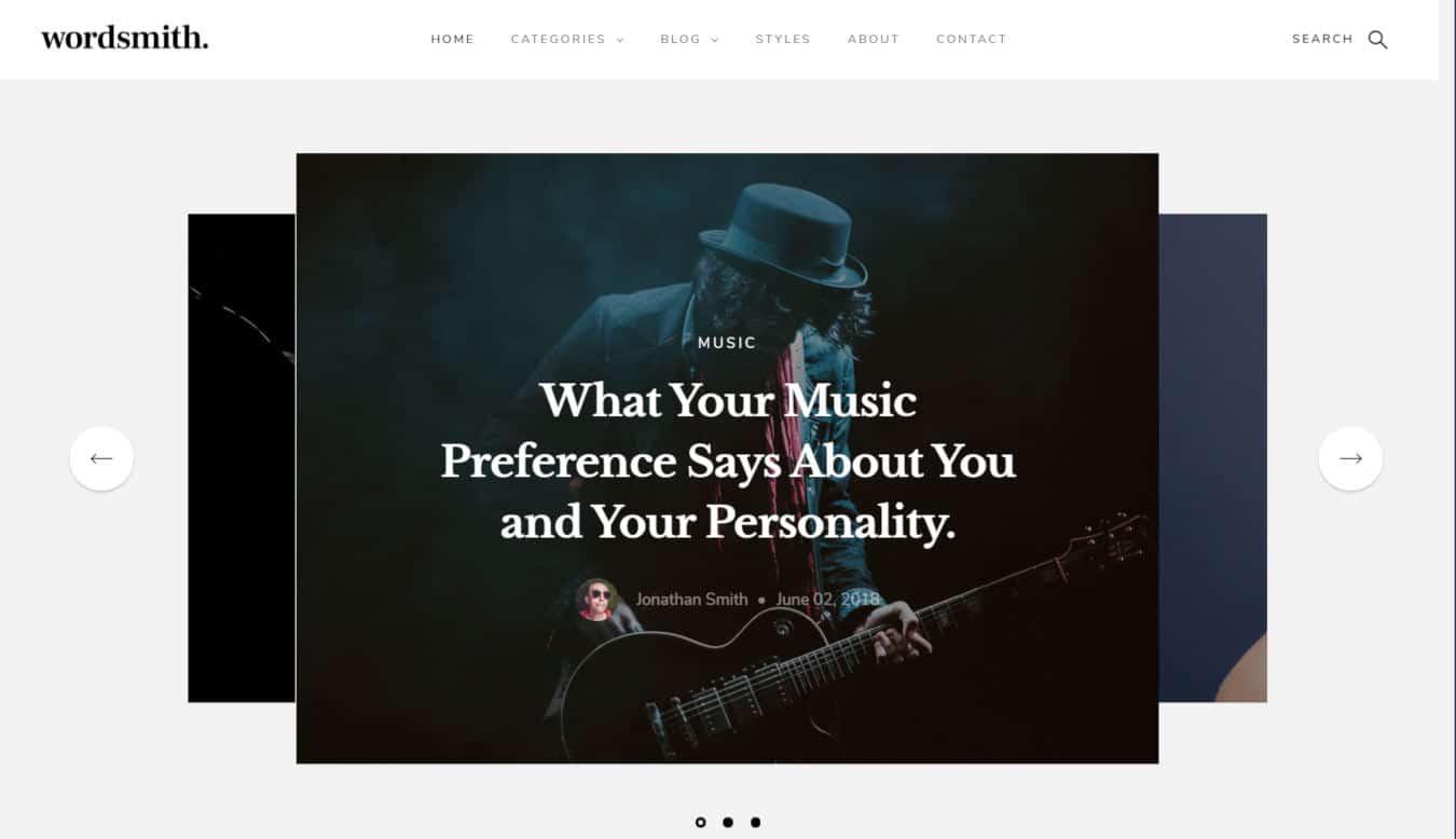 blogger templates - wordsmith