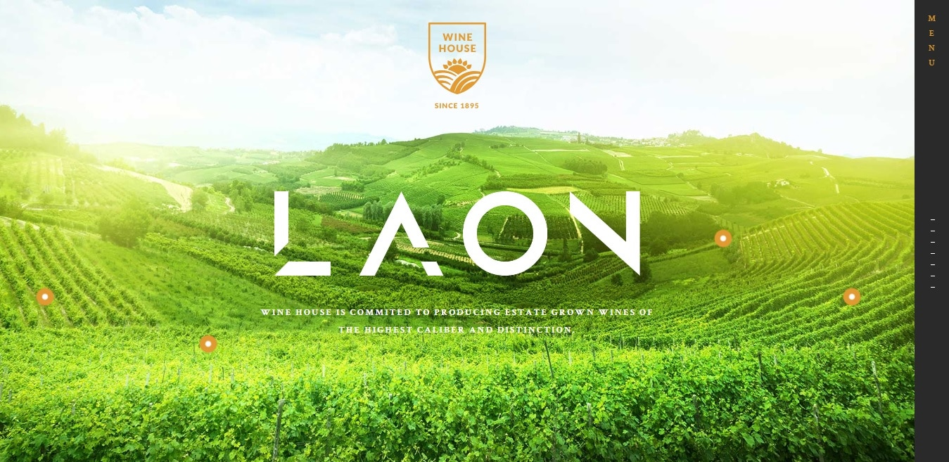 laon agriculture website template