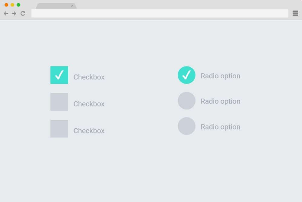 ripple animation on input radio and checkbox