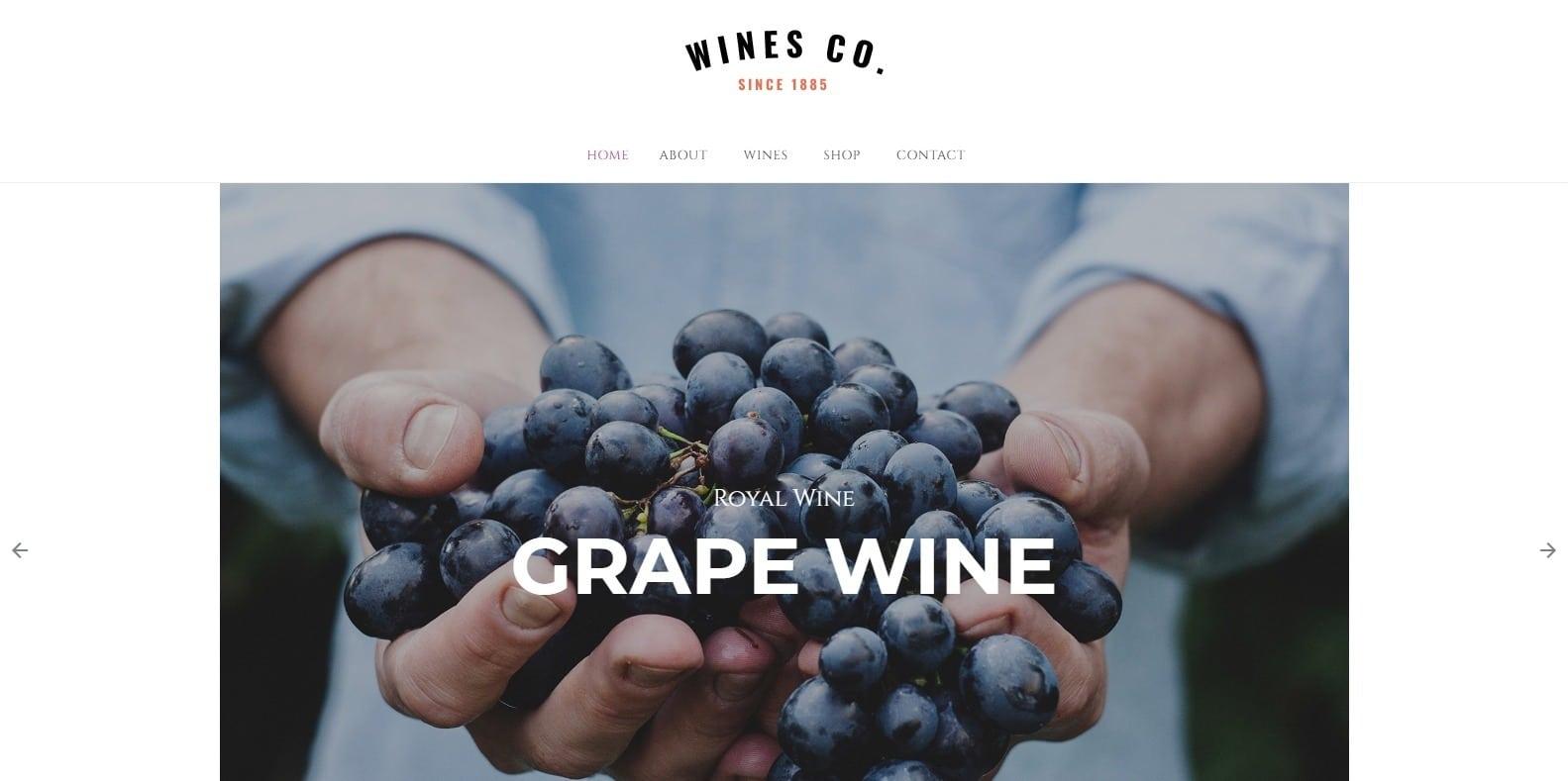 wines-beautiful-website-template