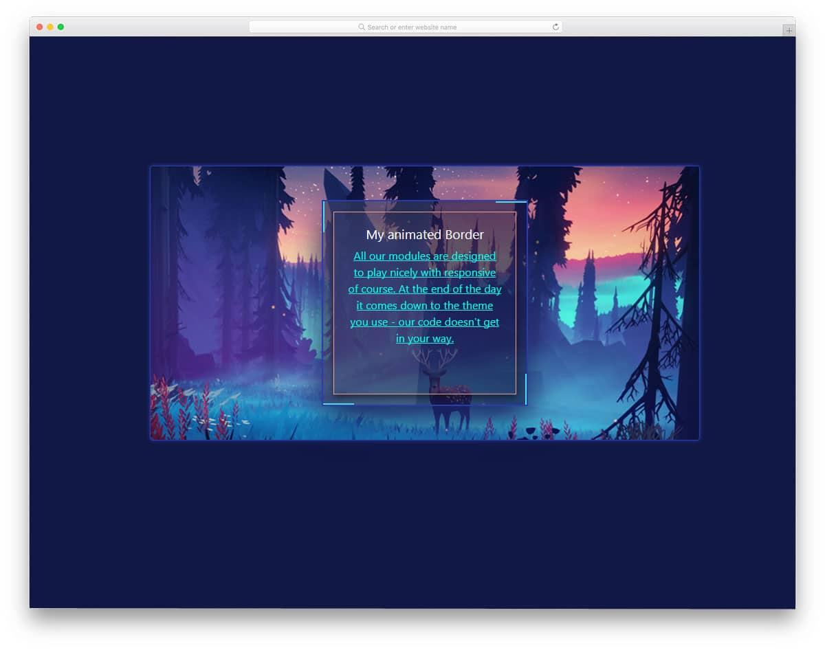 Border-Animation-CSS