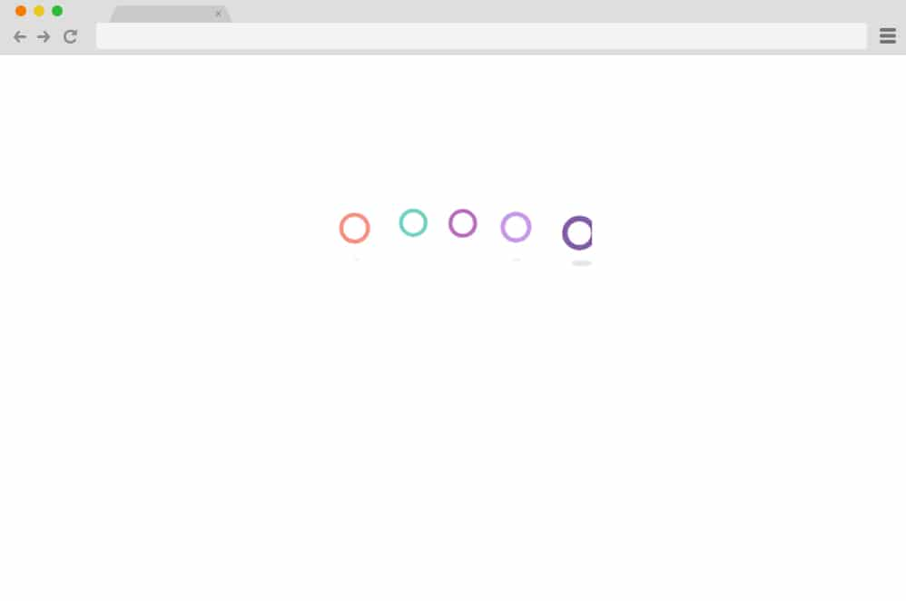 Bounce Delay Loader CSS Spinners
