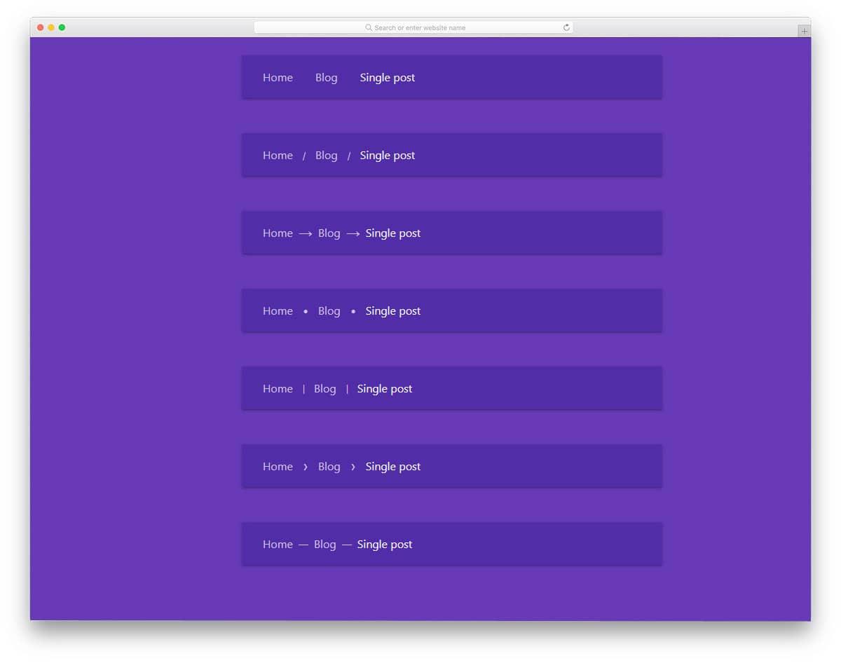 Breadcrumbs-With-CSS-Custom-Properties