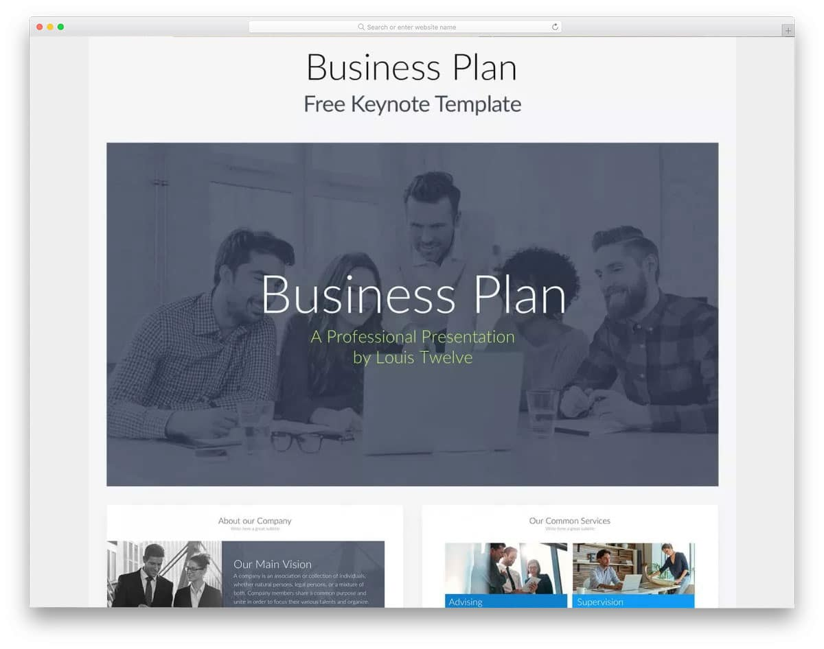 Business-Plan-Free-Presentation-Template