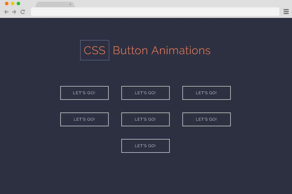 CSS Button Animations by Alex Loomer css button animation