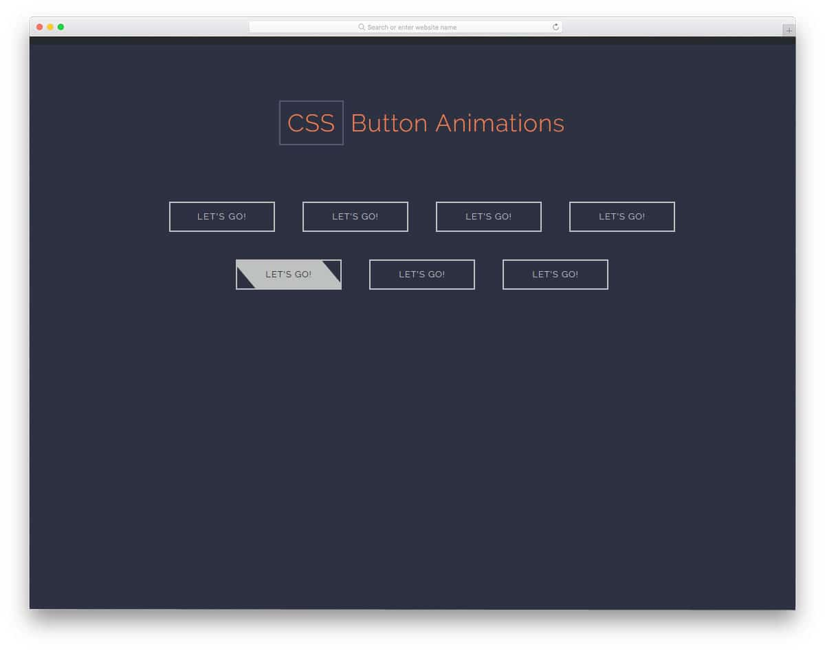 CSS-Button-Animations