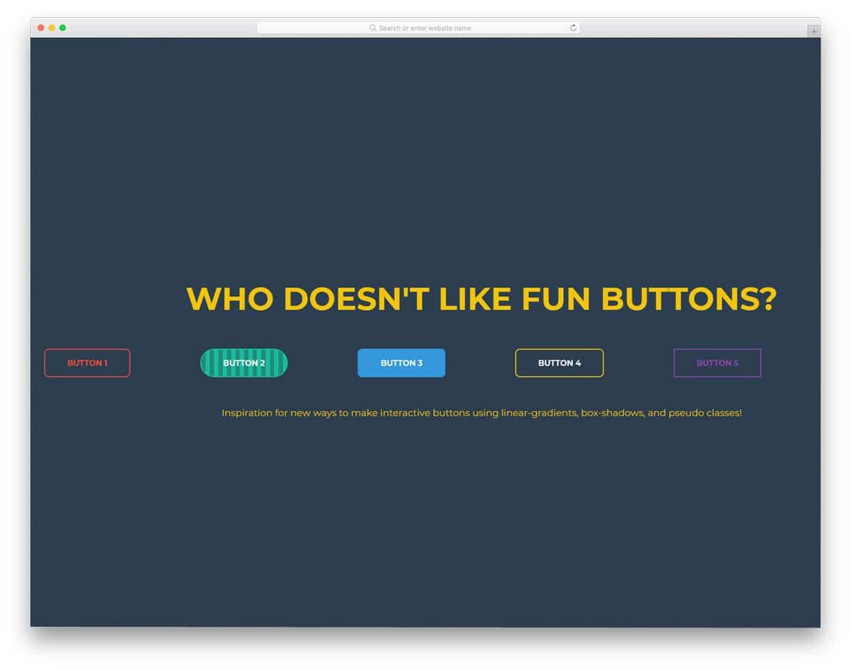 CSS-Buttons-By-Derek-Morash