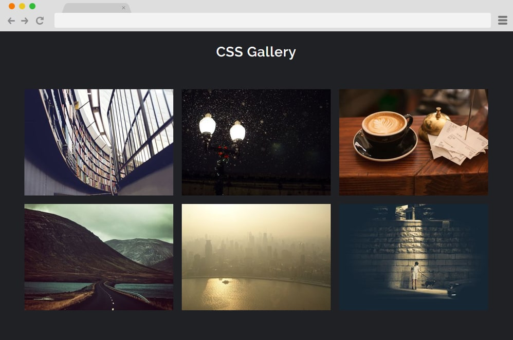 CSS Gallery badalsaibo css image gallery