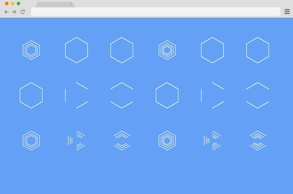 CSS Hexagonal Spinners CSS Spinners