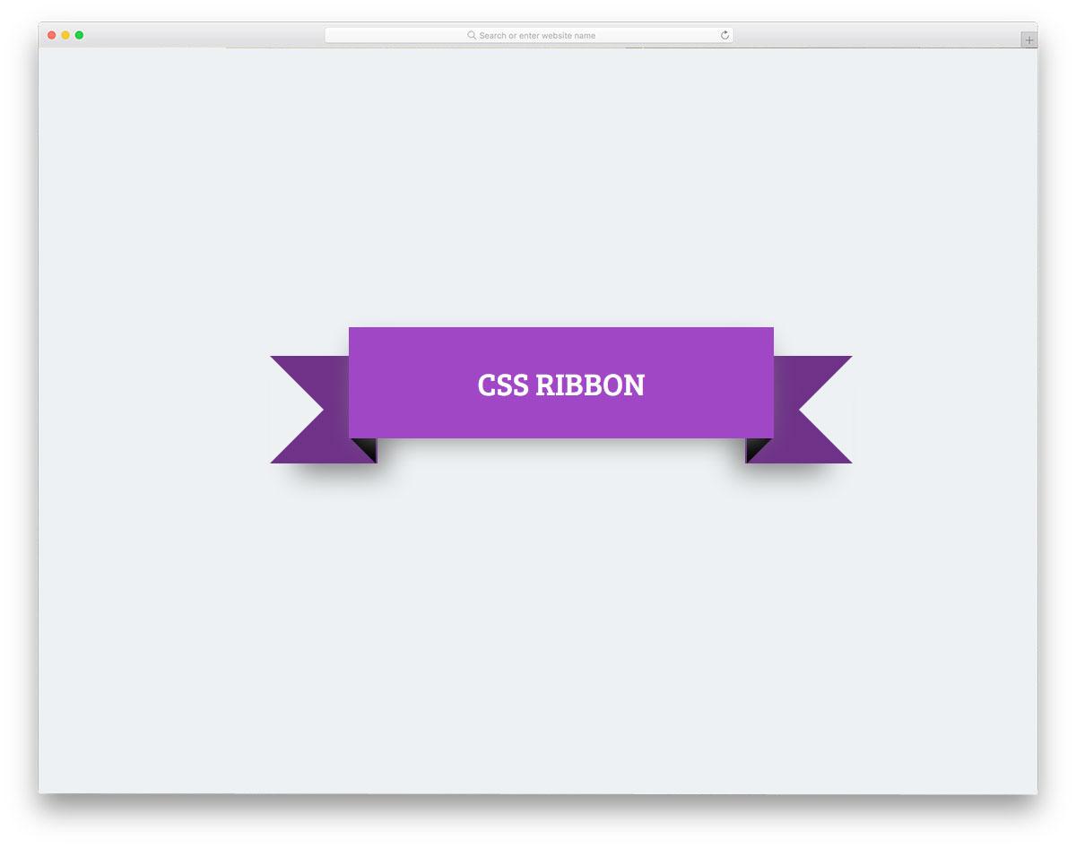 CSS-Ribbon-By-Sameh-Elalfi