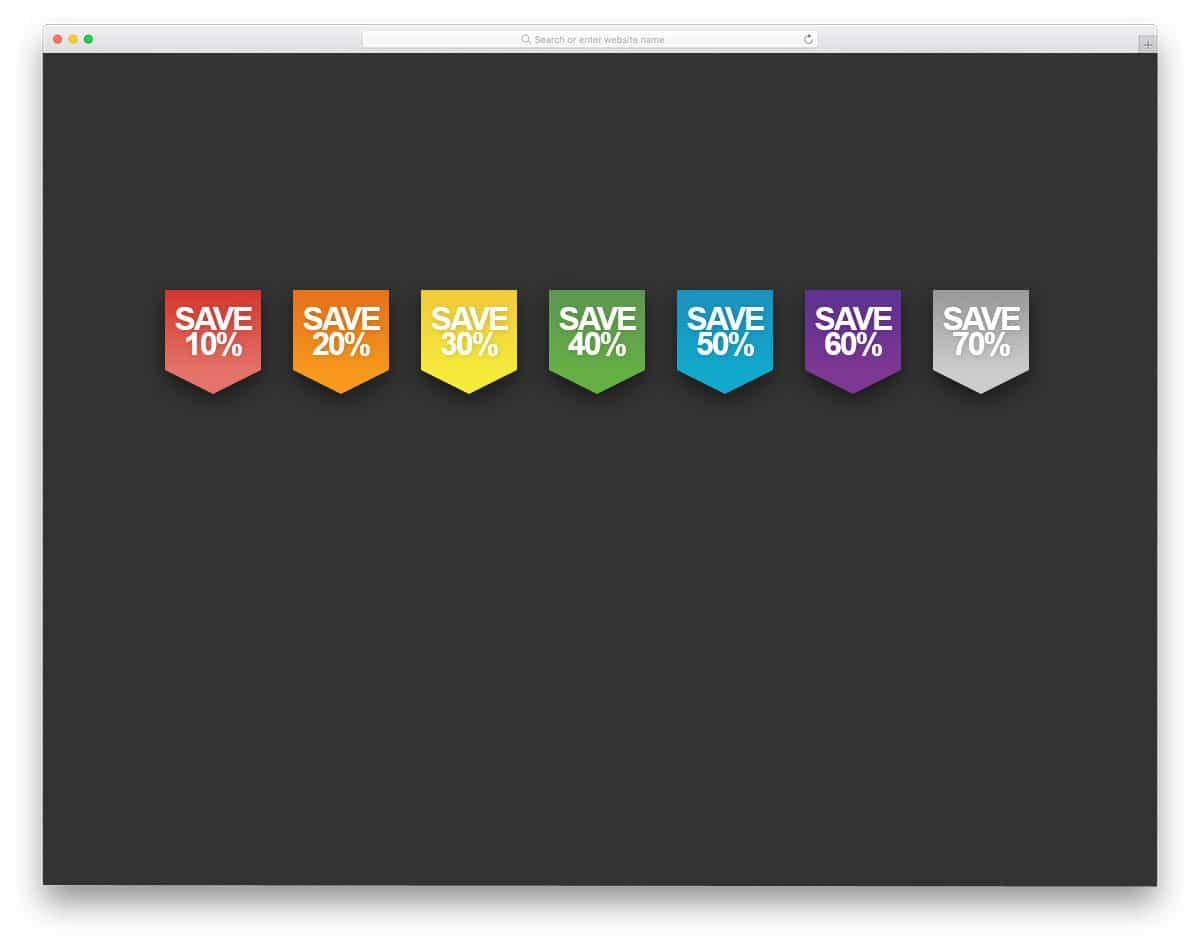 CSS-Ribbon-Product-Badges