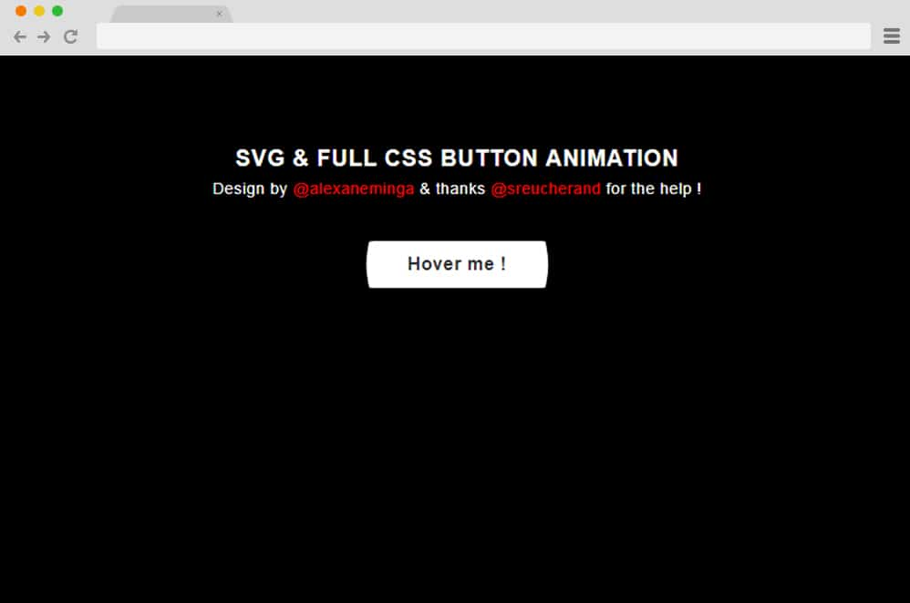 CSS + SVG Button Animation css button animation