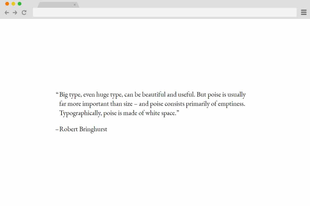 CSS Typography Quote CSS Blockquote