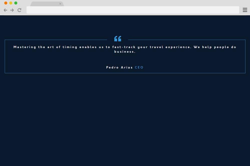 CSS quote Box CSS Blockquote