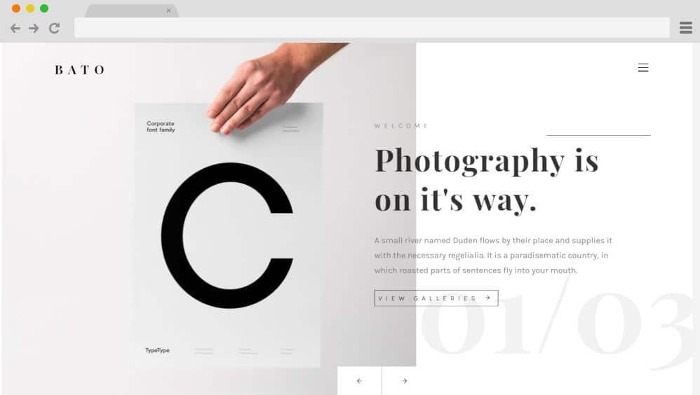 HTML image gallery - bato