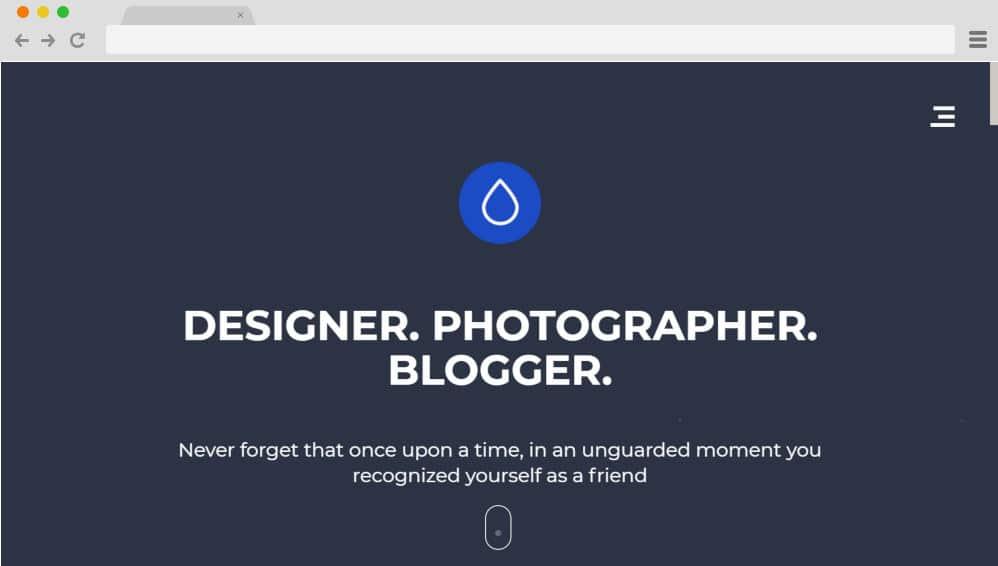 HTML image gallery - droppler
