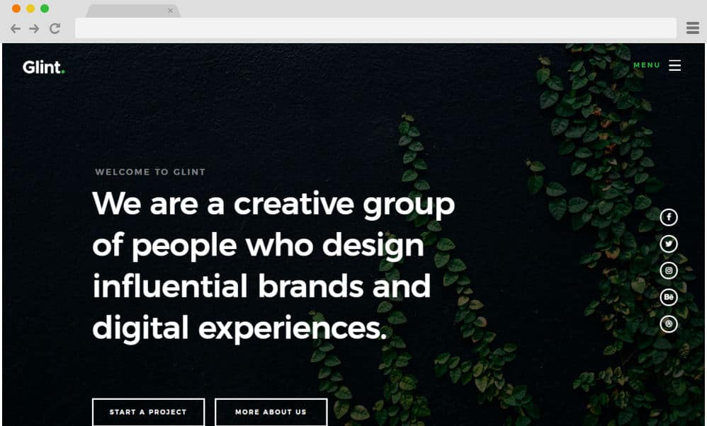 HTML image gallery - glint