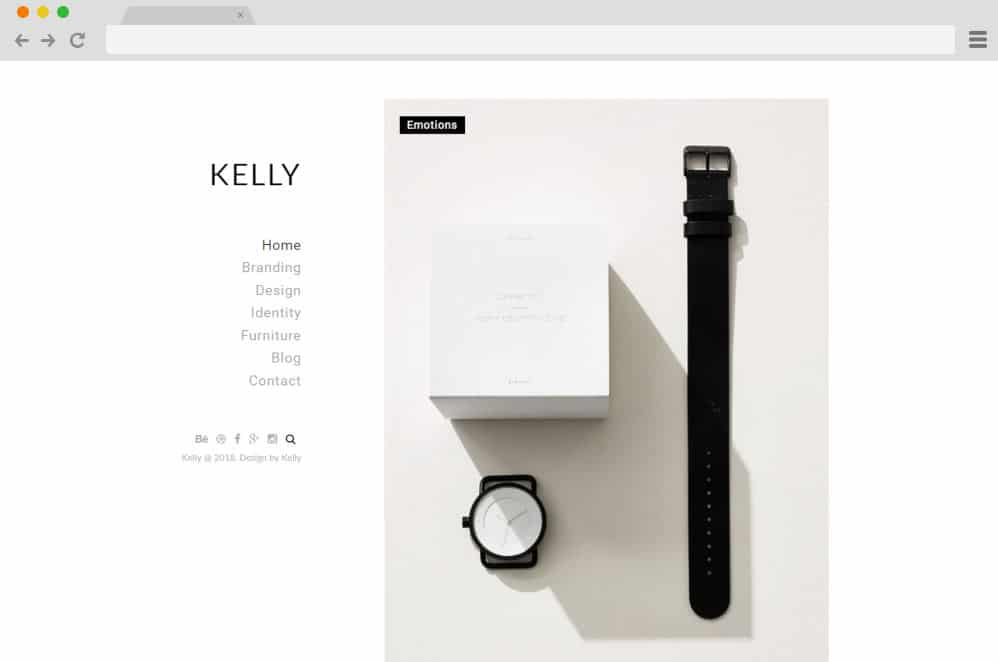 HTML image gallery - kelly