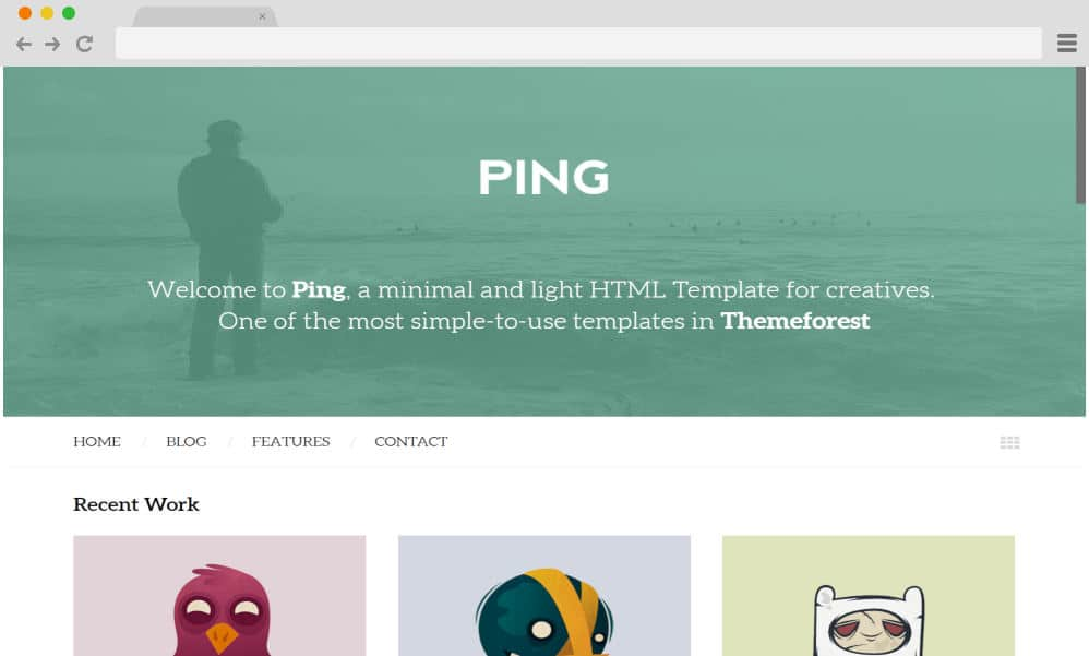 HTML image gallery - ping