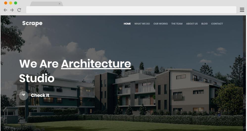 HTML image gallery - scrape