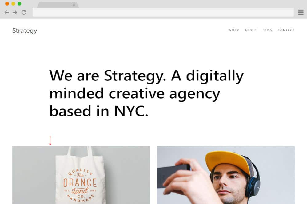 HTML image gallery - strategy